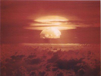 Bikini Atoll explosion