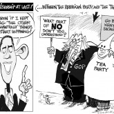 Bipartisanship Cartoon