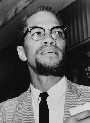 Malcolm X. Credit: Wikimedia Commons