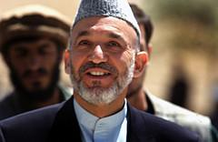 Afghan President Hamid Karzai. CC license: pingnews.com