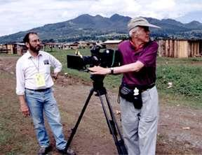 photo of saul and man with camera