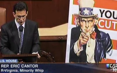 Cantor speaking on YouCut