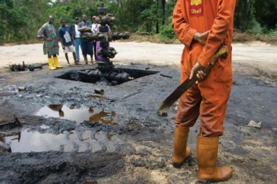 Oil spill cleanup in the Niger Delta