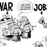 Jobs vs. War by Array