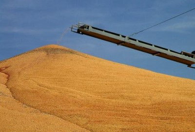 Harvested corn in Nebraska; photo by John Lillis via flickr