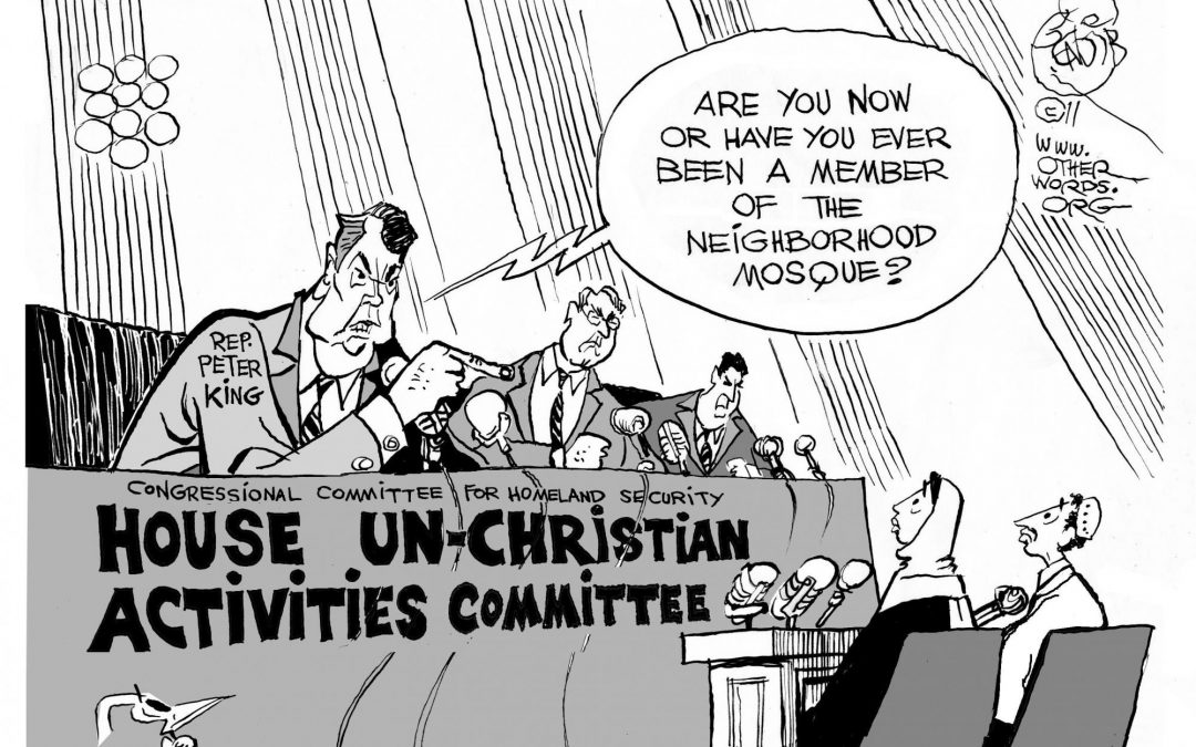 House Un-Christian Activities Committee