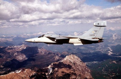 U.S. Air Force EF-111 used for the enforcement of a no-fly zone