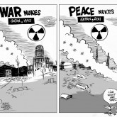 Nuclear War and Peace by Array