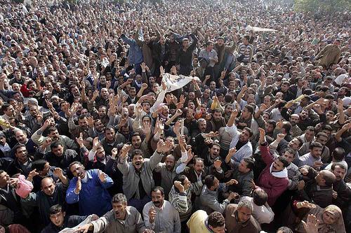 Arab Uprisings as a War on Error