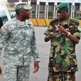 US Gen. Kip Ward with Rwandan Gen Kabarebe