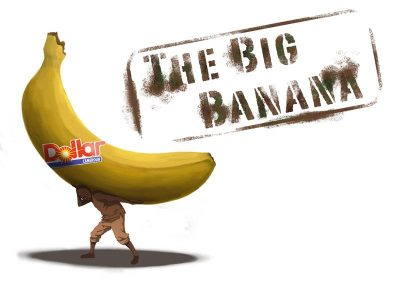 The Big Banana logo