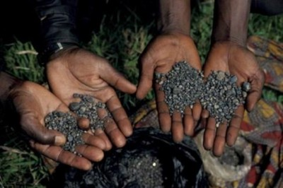 Raw Coltan