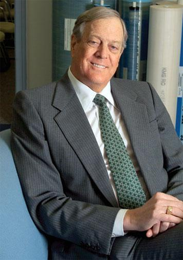 David Koch's Crass Act