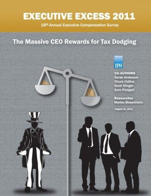 Cover: The Massive CEO Rewards for Tax Dodging