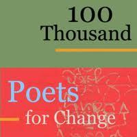 100 Thousand Poets for Change logo