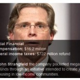 John Strangfeld, Prudential – Corporate Tax Dodger