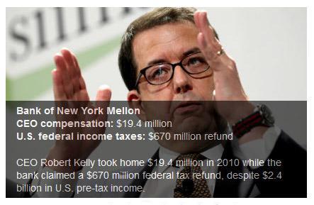 Bank of New York Mellon CEO Robert Kelly