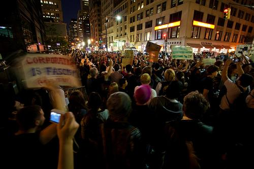 Movements like Occupy Wall Street have deep roots. CC Photo by sarabeephoto.