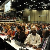 Durban Diary:  UN Summit's Stormy Backdrop
