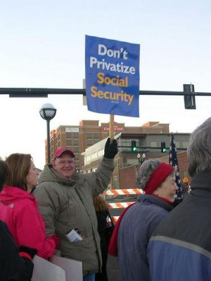 Make Social Security a flat tax on all wages instead of a regressive tax on low and medium wages, says Salvatore Babones. Photo by sagesnow.