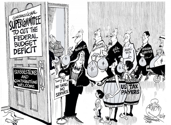 Lobbying the Supercommittee