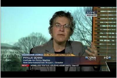 Phyllis Bennis on C-SPAN!