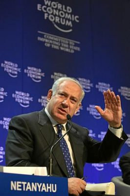 Like Israeli politicians of all parties, Benjamin Netanyahu has the wrong policy toward Palestine. Photo by World Economic Forum.