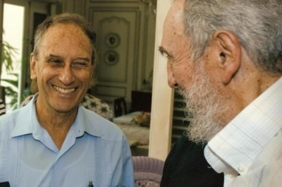 photo of Fidel and Saul