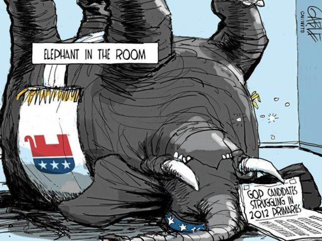 Republican Presidential Race: Comedy or Farce?