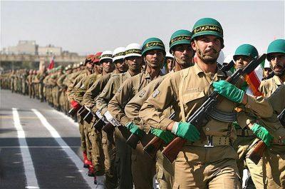 Iranian military parade