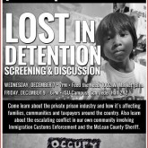 CANCELED: Film event: Lost In Detention
