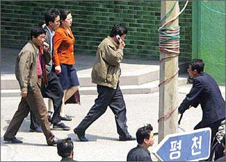 Cell phone use in North Korea