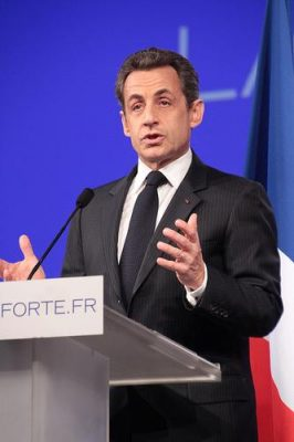 French President Nicolas Sarkozy. Credit: UMP photos.