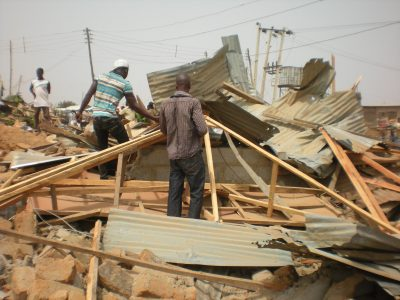 home demolition in Africa