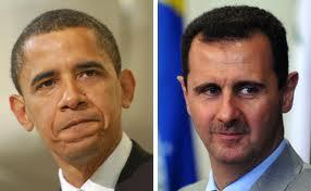 Obama and Assad