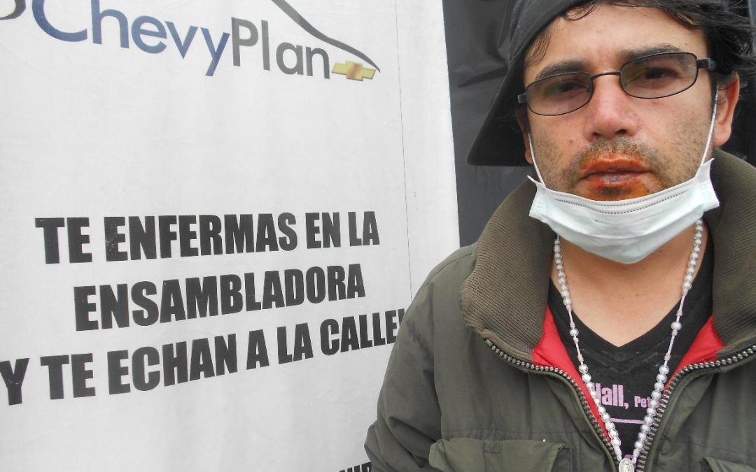 Hunger Striking for Labor Rights in Colombia