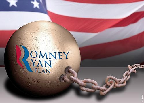 Romney Runs away from his Running Mate