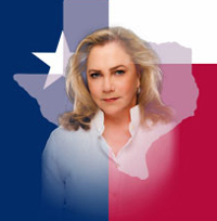 Kathleen Turner image with Texas