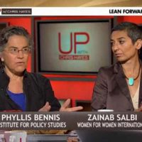 Phyllis Bennis Appears on MSNBC's 'Up with Chris Hayes'