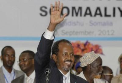 Hassan Sheikh Mohamud, Somalia's new president.