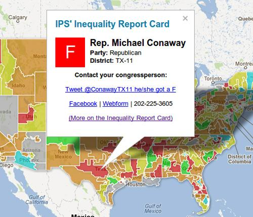 Inequality Report Card Action Map