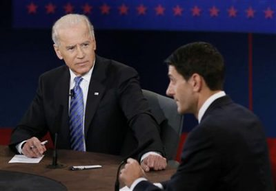 Biden and Ryan discuss Israel but ignore Palestine.