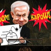 cartoon-bomb-netanyahu-iran