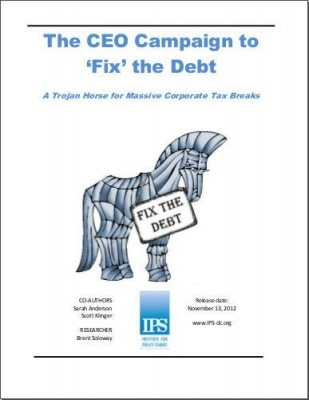 The CEO Campaign to 'Fix' the Debt