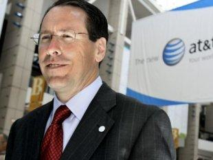 AT&T CEO Randall Stephenson is part of the problem, not part of the solution. Photo by Alternet.