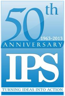 IPS 50th Anniversary logo