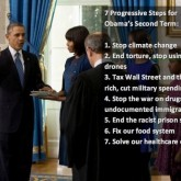 7 Progressive Steps - Obama Second Term