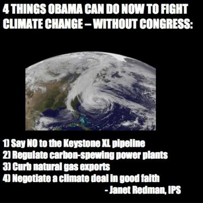 4 Things Obama Can Do Now to Fight Climate Change - Without Congress