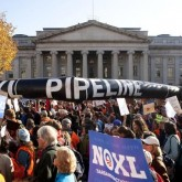 Pre-Rally Rally at IPS on Keystone XL!