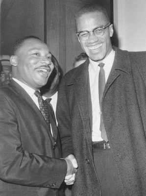 photo of MLK and Malcolm